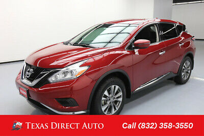 2017 Nissan Murano S Texas Direct Auto 2017 S Used 3.5L V6 24V Automatic FWD SUV