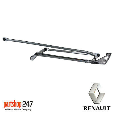 New Genuine Renault Front Wiper Linkage For Clio Mk3 2006 > 2013 8200383752