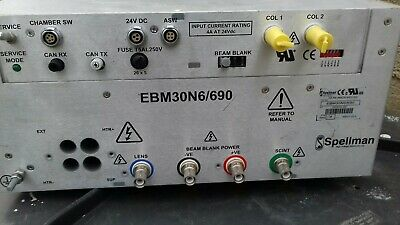 Spellman Triode E-Beam Column High Voltage Power Supply Ebm30N6/690. Read Desc