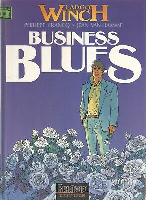 "bd largo winch 4 ""business blues"" EO repérage dupuis francq van hamme"