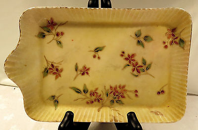 Haviland Limoges CFH / GDM France Floral Square Plate/Dish/Tray