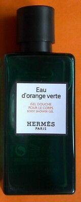 Eau D'orange Verte Hermes Paris Gel Douche Corps Flacon 40 Ml Neuf
