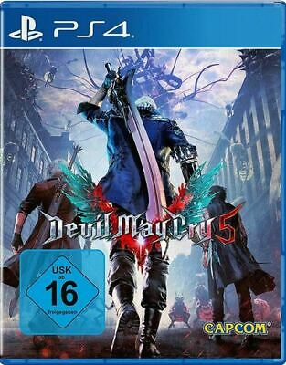NEU !!!  Devil May Cry 5  Playstation 4 Deutsche Version