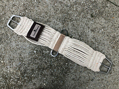Westernzadels en -zadeltuig U-1-32 32 inch CLASSIC EQUINE WESTERN TACK MOHAIR STRAIGHT HORSE CINCH GIRTH