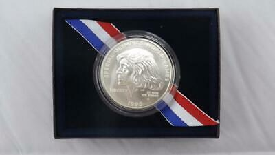 1995 W Special Olympic Uncirculated Silver Commemorative US Mint Dollar $1 Coin