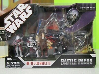 Battle on Mygeeto BATTLE Packs Pack STAR WARS 30th Anniversary MIB