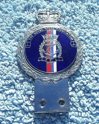 Royale Military Car Grill Badge /& Fittings ROYAL NAVAL HOSPITAL HASLAR B2.3549