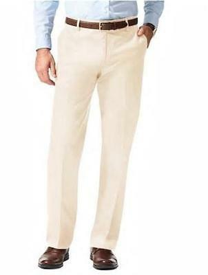 New Dockers The Best Pressed Straight Signature Flat Cloud Dress Pants 40 29