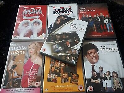 JOB LOT of Comedy Dvds: Two Ronnies/ My Family/ Extras/Nighty Night