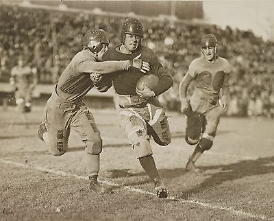 "1920 Football Game, Antique college Sports, 14""x11"" Photo, Up Close tackle"