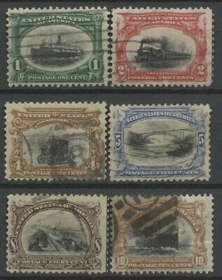 No: 62583 - USA - LOT OF 6 OLD STAMPS - USED!!