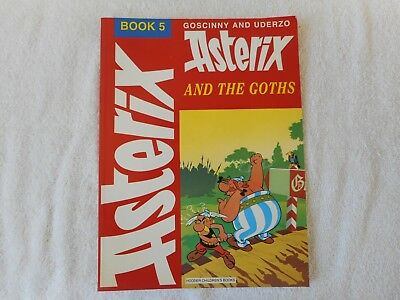 Asterix and the Goths  Book 5 Goscinny and Uderzo Comic Book VGC
