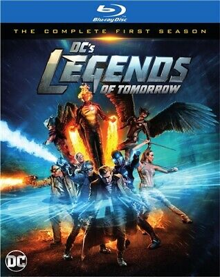 DC'S LEGENDS OF TOMORROW TV SERIES COMPLETE FIRST SEASON 1 New Sealed Blu-ray
