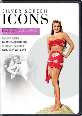 SILVER SCREEN ICONS ESTHER WILLIAMS VOL 1 New Sealed DVD 4 Films