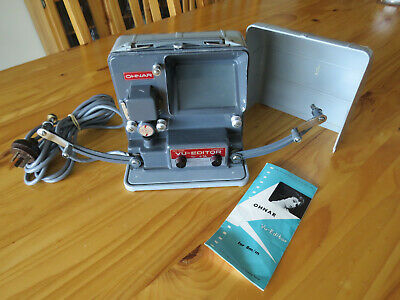 Made in Japan **OHNAR 8mm VU-EDITOR** with Instruction Leaflet