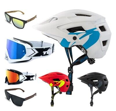 Oneal MTB Defender 2.0 Solid Casco Combo Two-X Gafas Dh Downhill