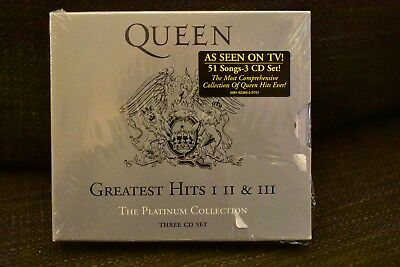 Queen - Platinum Collection: Greatest Hits 1-3 [New CD] Boxed Set . new sealed