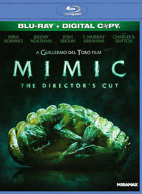 Mimic (Blu-ray Disc, 2011, Unrated Directors Cut) NEW!