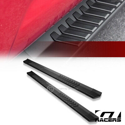 """For 2005-2018 Toyota Tacoma Double Cab 6"""" Matte Black OE Aluminum Running Boards"""