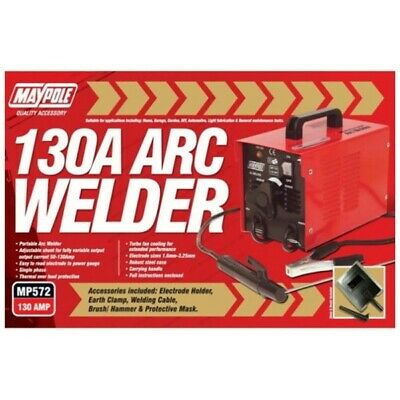 ARC Welder & Accessories 130A Maypole 572
