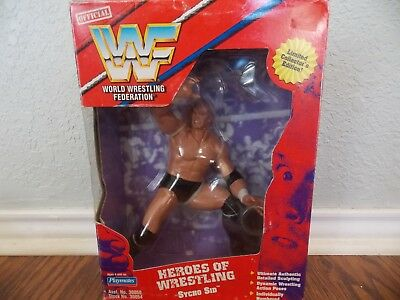 NEW Vintage Playmates Wrestling Figures THE UNDERTAKER and SYCHO SID