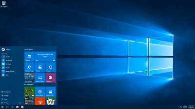 Microsoft Windows 10 Professional 32 and 64-bit Product Key Activation License