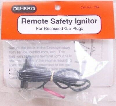 NEW Dubro 794 Remote Safety Glow Ignitor Recessed FREE US SHIP