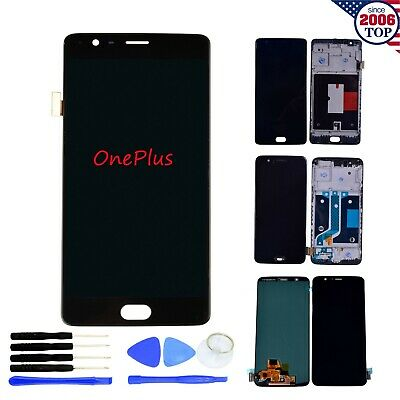 LCD Display Touch Screen Digitizer Assembly Replacement for OnePlus  3 3T 5 5T 6