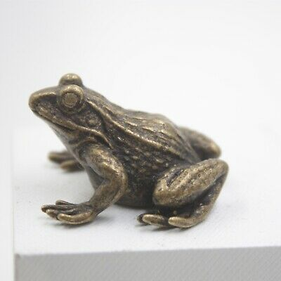 Handmade Craft Solid Copper The Frog Statue Best Collection