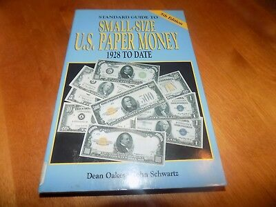 THE STANDARD GUIDE TO SMALL-SIZE U.S. PAPER MONEY Currency Ex-Lib G 5th Ed Book