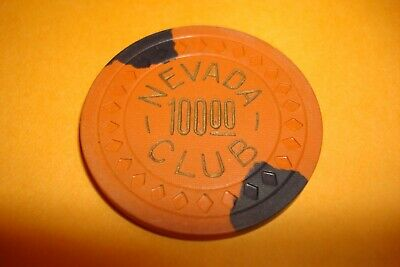 Nevada Club - Reno, NV $100 Chip -  1947