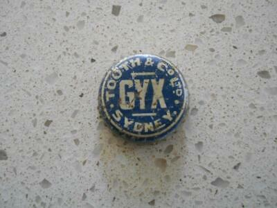 Old Tooth & Co Company GYX Sydney tin bottle cap  top beer brewery brewer cork