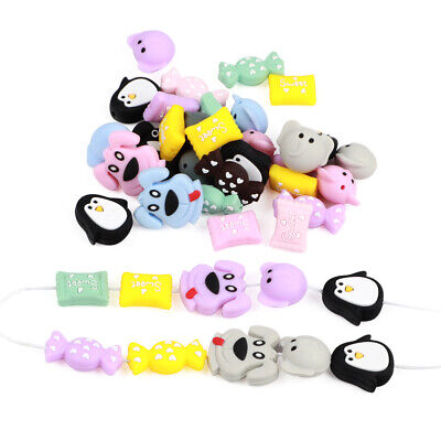 3pcs Silicone Teether Beads Baby Teething Bead Necklace Pacifier Chewing Toys