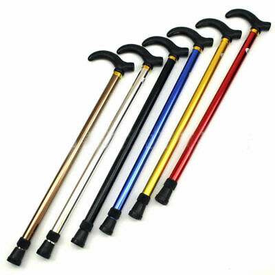 Walking Stick Two-section Adjustable Aluminum Folding Collapsible Travel Cane