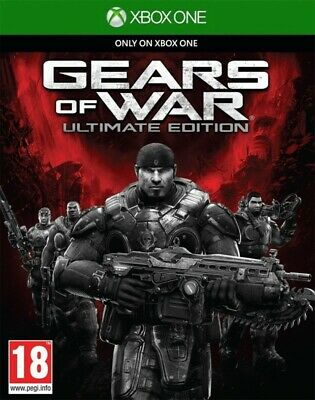 Microsoft Xbox One game Gears of War Ultimate Edition ENGLISH boxed