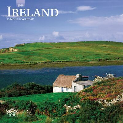 2019 Ireland Mini Wall Calendar,  by BrownTrout