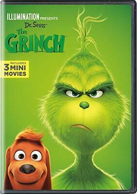 Illumination Presents Dr. Seuss' The Grinch DVD Benedict Cumberbatch DVD NEW