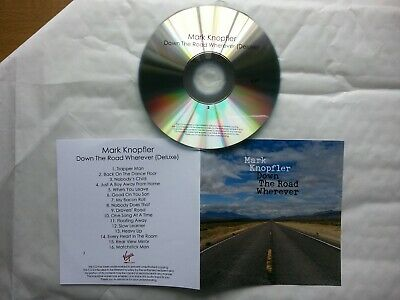 MARK KNOPFLER -  Down The Road Wherever - DELUXE!! 16 TRK PROMO CD # 2 !!!!!