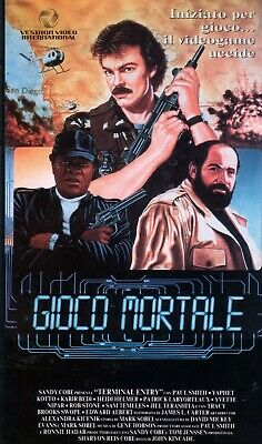 Gioco Mortale (Usa 1986) VHS Vestron 1a Ed. John Kincade Paul Smith Yaphet Kotto