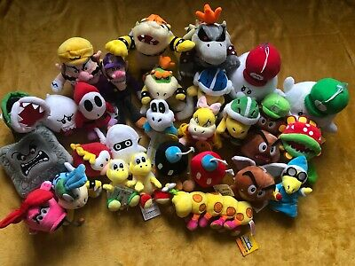 Super Mario Plush Collection - Choice of 35 Enemies Characters -UK Delivered NEW