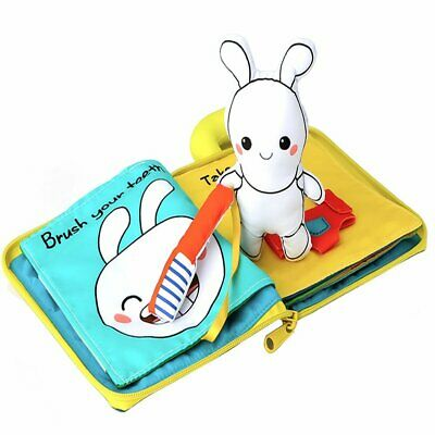 Beiens 9 Theme My Quiet Books Cloth Book Toddler Busy Book Multi-Color Plush Toy