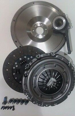 Flywheel, Clutch Kit, Csc And All Bolts For Vw Golf 1.9Tdi Ajm & Auy 4Motion