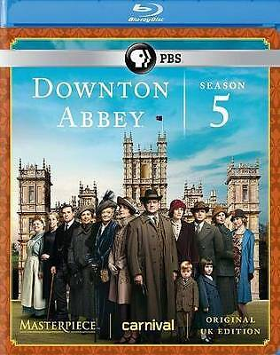 Downton Abbey: Season 5 (Blu-ray Disc, 2015, 3-Disc Set)