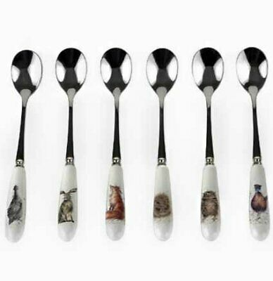 Wrendale By Royal Worcester - Set of 6 Teaspoons