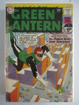 Green Lantern Vol. 2 (1960-1988) #5 GD