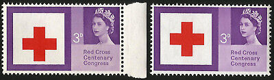 GB Stamp Error 1963 Shift Of Red Cross  (as if inverted) Unmounted Mint