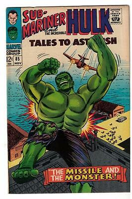 Marvel TALES TO ASTONISH 85 HULK SUB MARINER  FN 6.0