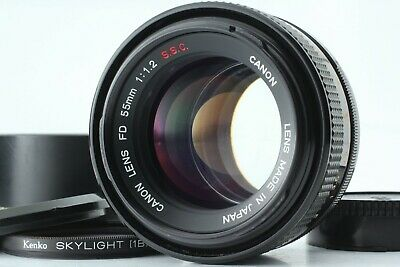 [Excellent+++] Canon FD 55mm F1.2 S.S.C. ssc FD Mount Lens w/Filter from Japan