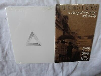 21a3921fc9b024 Lot of Two (2) Surf   Surfing DVDs - Sliding Liberia + Modern Collective