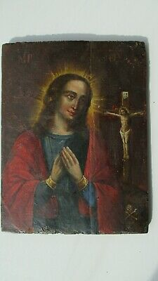 Icona Russa,Antique Russian Orthodox icon,Theotokos,,from 19c.